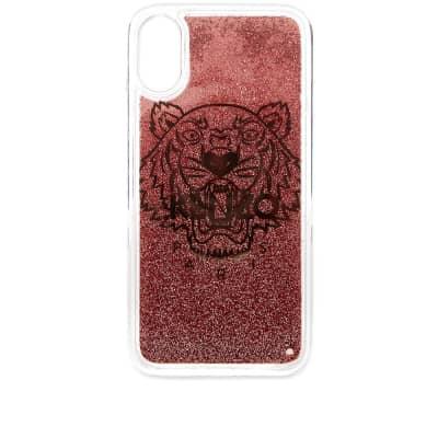 Kenzo iPhone X/XS Tiger Glitter Case