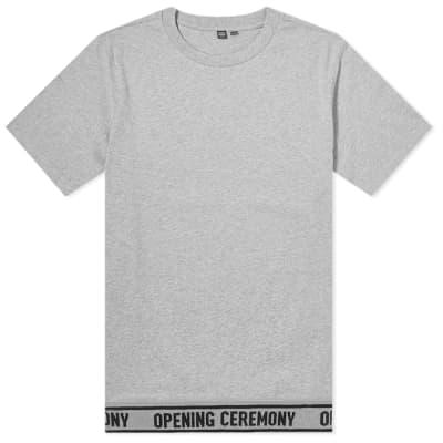 Opening Ceremony Elastic Logo Tee