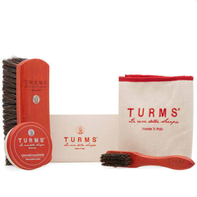 TURMS Calf & Cordovan Cleaning Set