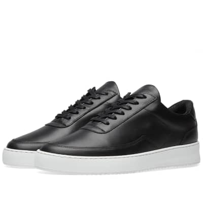 Filling Pieces Low Mondo Ripple Nardo Nappa Leather Sneaker