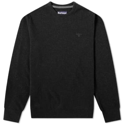 9d5694f79d01fa Barbour Essential Lambswool Crew Knit