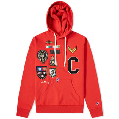 Champion x Clothsurgeon Badge Logo Popover Hoody