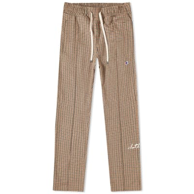 Champion x Clothsurgeon Check Straight Hem Track Pant