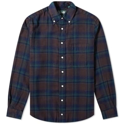 Gitman Vintage Flannel Check Shirt