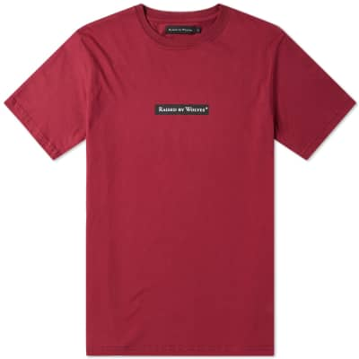 Raised by Wolves Box Logo Tee