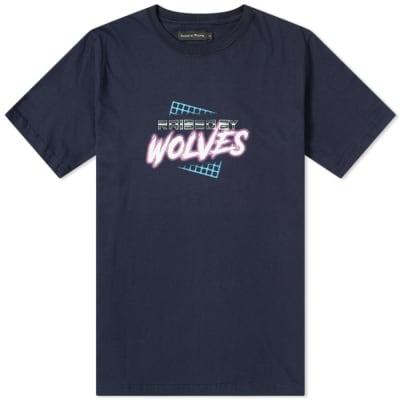 Raised by Wolves Vaporwave Tee
