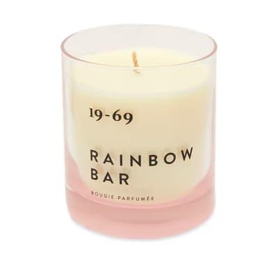19-69 Rainbow Bar Candle