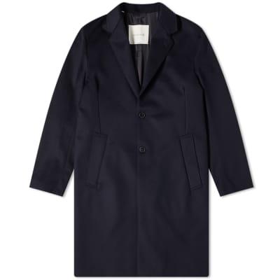 Mackintosh Stanley Wool Chesterfield Coat
