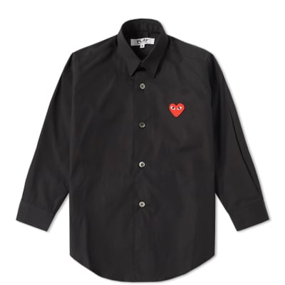 Comme des Garcons Play Kids Red Heart Shirt