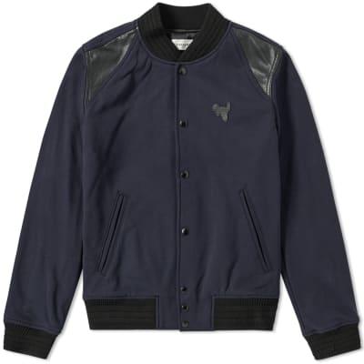 Coach Rexy Patch Varsity Jacket
