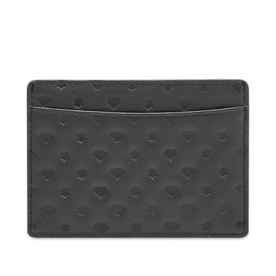 Billionaire Boys Club Diamond and Dollars Leather Card Holder