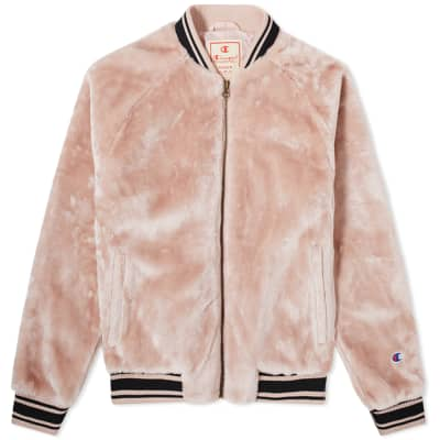 Champion Reverse Weave Women's Fleece Bomber Jacket