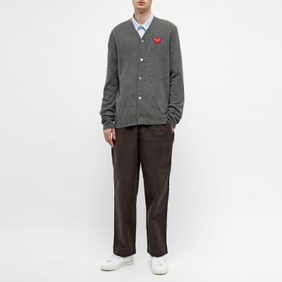 Comme des Garcons Play Cardigan