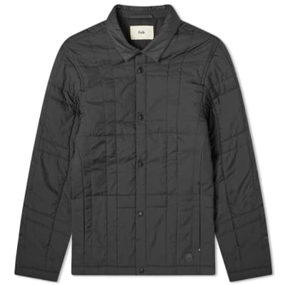 Folk Quilted Grid Jacket