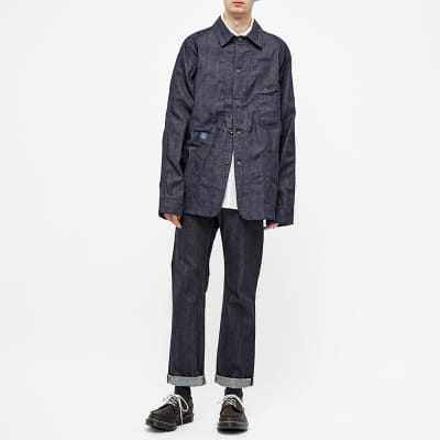 Post Overalls Denim 41-R Railroad Jacket