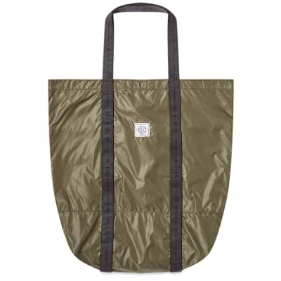 Post Overalls Nylon Tote Bag