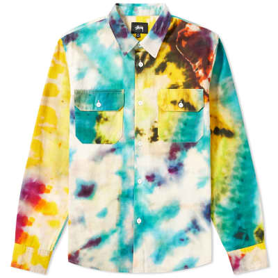 Stussy Tie Dye Work Shirt