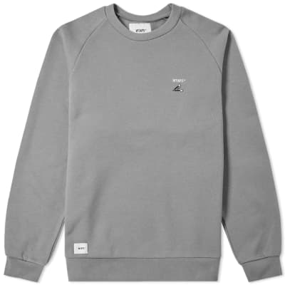 WTAPS Crack 01 Crew Sweat