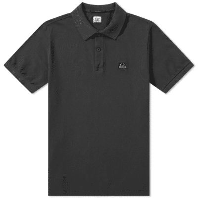 C.P. Company Pique Garment Dyed Polo