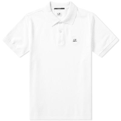 44f7bd1a4 C.P. Company Pique Garment Dyed Polo