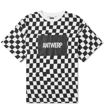 VIER x Facetasm Checkerboard Tee