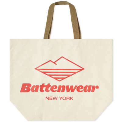 Battenwear Large Canvas Tote Bag