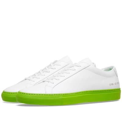 Common Projects Achilles Low Coloured Sole