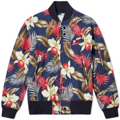 Engineered Garments Hawaiian Floral Jacket