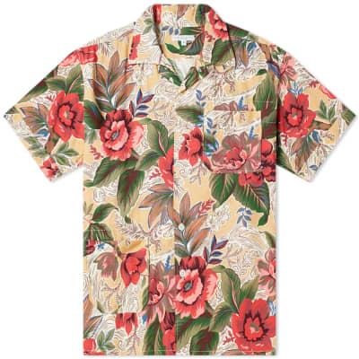 Engineered Garments Short Sleeve Hawaiian Camp Shirt