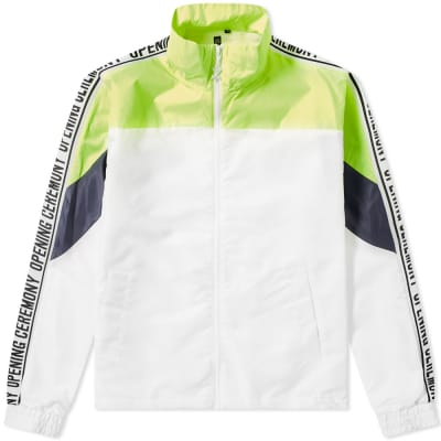 Opening Ceremony Taped Logo Warm Up Jacket