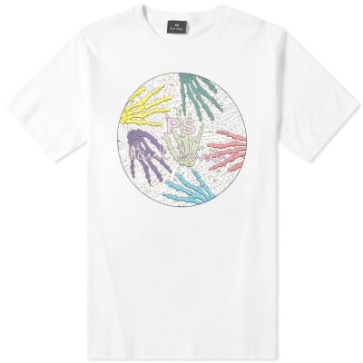 Paul Smith Skull Hands Logo Tee