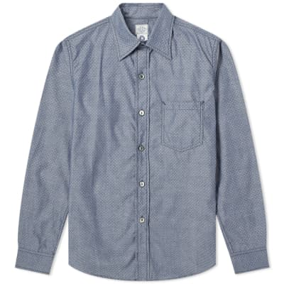 Post Overalls The Post III-R Chambray Shirt