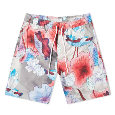 Saturdays NYC Timothy Vivid Lotus Swim Short