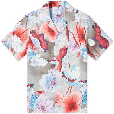 Saturdays NYC Canty Vivid Floral Vaction Shirt