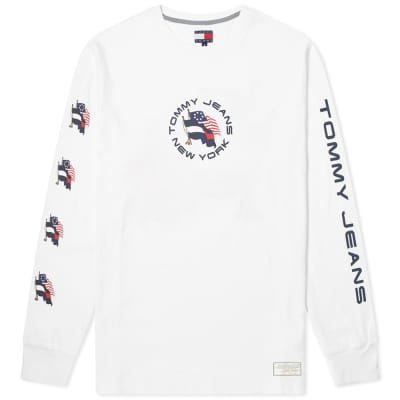 Tommy Jeans Summer Long Sleeve Flag Tee