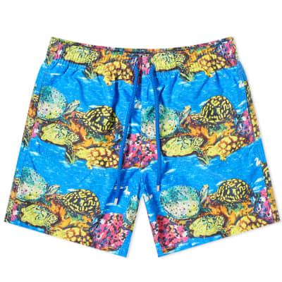 91e3fcf7a9 Vilebrequin Moorea Artist Reef Turtle Print Swim Short