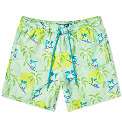 Vilebrequin Moorea Surfing Turtles Swim Short