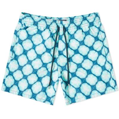 Vilebrequin Moorea Turtle Dobby Print Swim Short