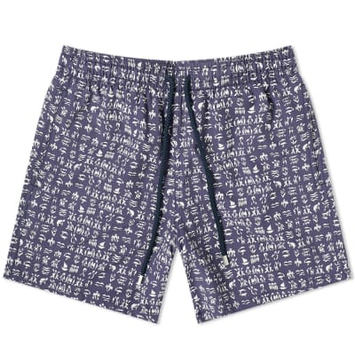 Vilebrequin Moorea Fortune Teller Turtles Swim Short