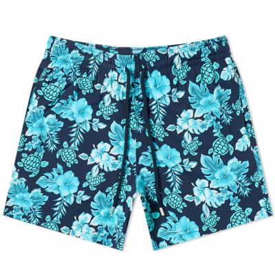 Vilebrequin Moorise Hawaiian Turtle Swim Short