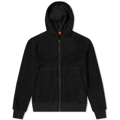 Barena Zip Through Fleece Hoody
