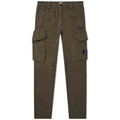 C.P. Company Garment Dyed Lens Pocket Cargo Pant