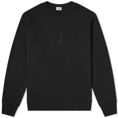 C.P. Company Heavyweight Logo Crew Sweat