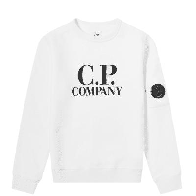 C.P. Company Undersixteen Logo Arm Lens Sweat
