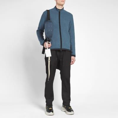 Craig Green Boucle Zip Up Knit