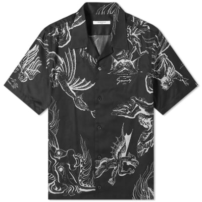Givenchy Dragon Hawaiian Shirt