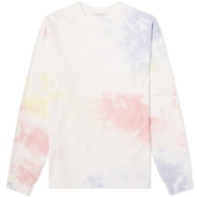 John Elliott Long Sleeve University Tee Ink Bloom