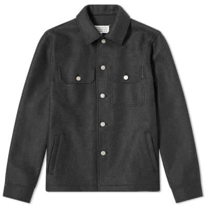 Maison Margiela 10 Wool Trucker Jacket