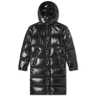 Moncler Hanoverian Long Hooded Down Jacket