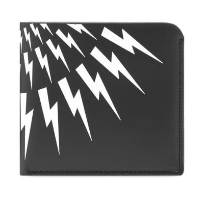 Neil Barrett Lightning Bolt Billfold Wallet